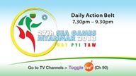 Daily Action Belt - 27th SEA Games Myanmar 2013 Football