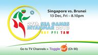27th SEA Games Myanmar 2013 Football